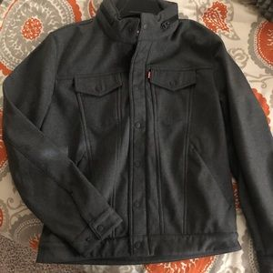 Brand new with tags Men's Levi's wool jacket.